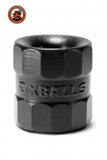 Ball-stretcher BullBalls 1 noir - Oxballs  : Le premier Ballstrecher créé par Oxballs remis au goût du jour avec leurs standards actuels de qualité. 100% silicone Platinum.