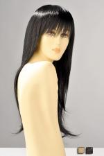 Perruque Brenda : Perruque longue avec une frange, ses mèches lisses vous donnent une allure sensuelle et féminine.