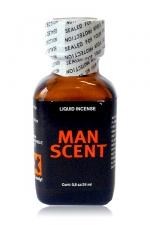 Poppers Man Scent 24 ml : Incontournable, par la société ManScent, Ce poppers produit tout simplement ce que vous attendez de lui!